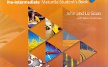 New Headway Fourth Edition Pre-Intermediate Maturita Student´s Book + iTutor DVD CZ