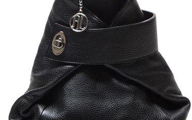 Kožený batoh Sonia, černý - doprava zdarma!