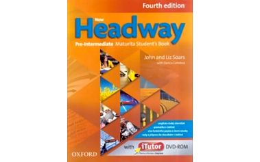 New Headway Fourth Edition Pre-Intermediate Maturita Student´s Book + iTutor DVD CZ