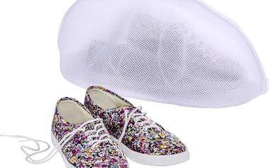 Síťka na praní bot, bílá