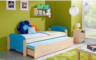 Jednolůžková postel s přistýlkou Bing2 - DOPRAVA ZDARMA!