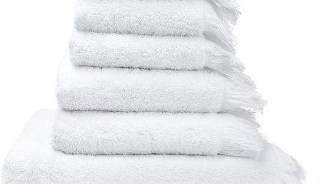 Set 8 bílých bavlněných ručníků a osušek Casa Di Bassi Bath - doprava zdarma!