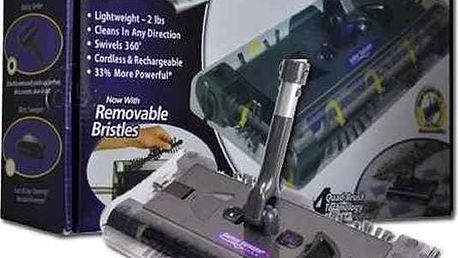 Praktický elektrický mop Swivel sweeper, čistí různé povrchy jako koberce, obklady, laminát aj.