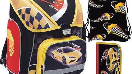 Školní set P + P Karton Car + Doprava zdarma