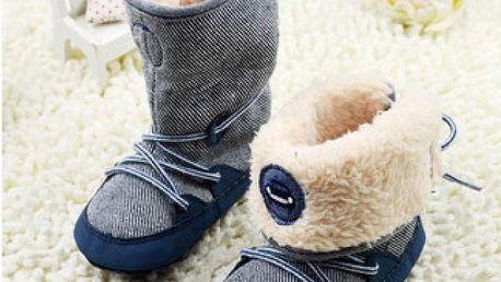 Zimní botičky pro batolata Comfort
