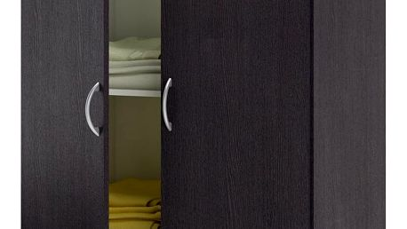Skříň 2 dveřová 475061 wenge