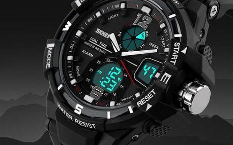Pánské sportovní hodinky s výrazným ciferníkem
