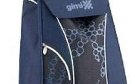 Market Queen Nákupní taška na kolečkách modrá