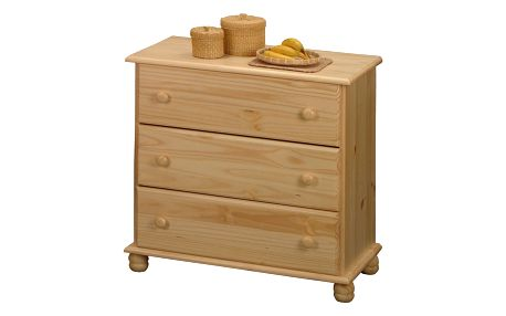 Prádelník - 3 zásuvky 8013