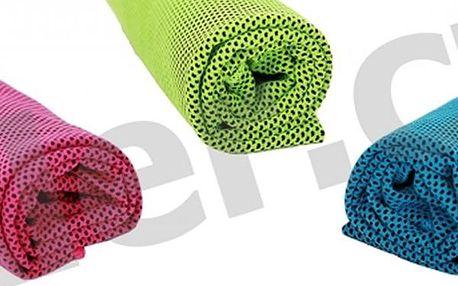 Chladicí ručník nabízí dlouhotrvající chladicí účinek v parném létě, při sportu, při únavě.