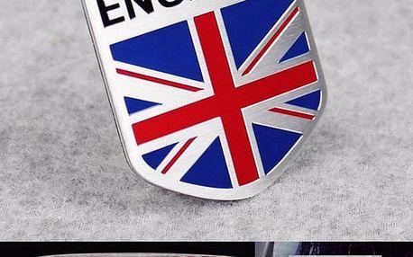 Samolepka na auto - England
