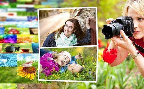 Ateliérové/exteriérové focení až pro 5 osob. Focení i o víkendech. Nechte si vytvořit krásné rodinné foto nebo vezměte kamarády. Získte až 240 fotek bezvodoznaku, poukaz lze využít na rodinné tak erotické focení.