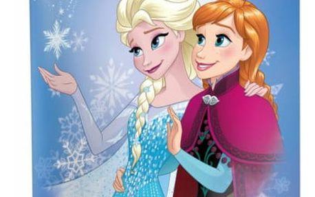 Školní sešit - Ledové království - Anna a Elsa - č. 445 - 5 kusů - dodání do 2 dnů