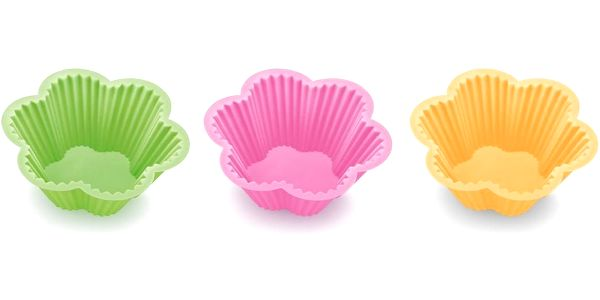 Tescoma DELÍCIA silikonové košíčky květinky 6 ks