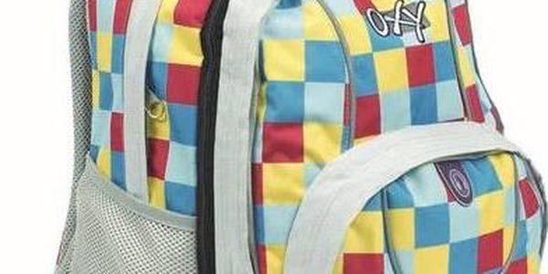Batoh školní P + P Karton OXY Cool Cubes + Doprava zdarma
