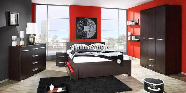 Moderní ložnice VASINA Sestava 3