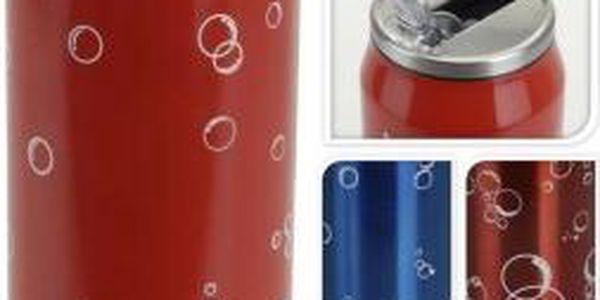 Láhev na nápoje 500 ml nerez design plechovka ProGarden KO-995000020