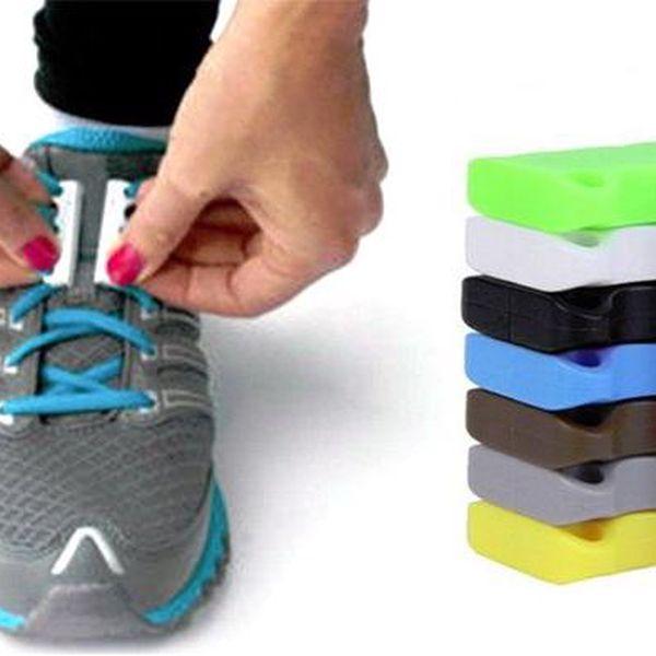 Magnetické tkaničky v několika barvách pro snadné zavazování obuvi
