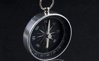 Hliníkový kompas na cesty
