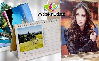 Fotokalendáře: vlastní fotografie, na výběr stolní, nástěnný nebo magnetický + poštovné v ceně