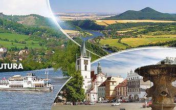 Vlakem na sever Čech: jednodenní zájezd pro 1 osobu s plavbou lodí údolím Porta Bohemica