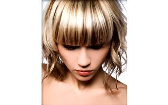 CENOVÁ BOMBA:-) Kadeřnický balíček pro dámy - mytí, střih, foukaná a styling!