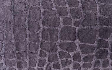 4Home Přehoz na postel Imperial šedá, 220 x 240 cm, 2x 40 x 40 cm