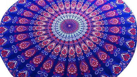Plážová osuška - Mandala - poštovné zdarma