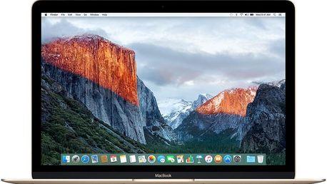 MacBook Apple MLHF2CZ/A 12, zlatý + 200 Kč za registraci
