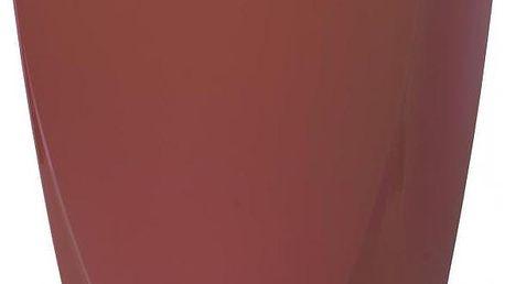 Plastový květináč Camy 21 cm, rubínová, Plastia