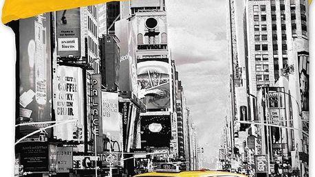 Jerry Fabrics bavlna povlečení New York Taxi 140x200 70x90