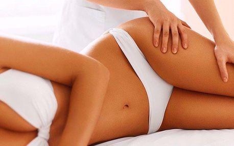 Ruční anticelulitidní masáž s masáží obličeje