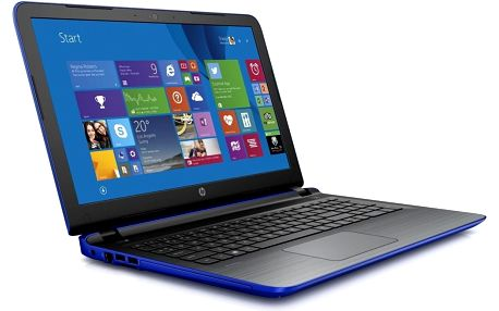 Notebook HP Pavilion 15-ab082 N3V75EA, modrý + 200 Kč za registraci