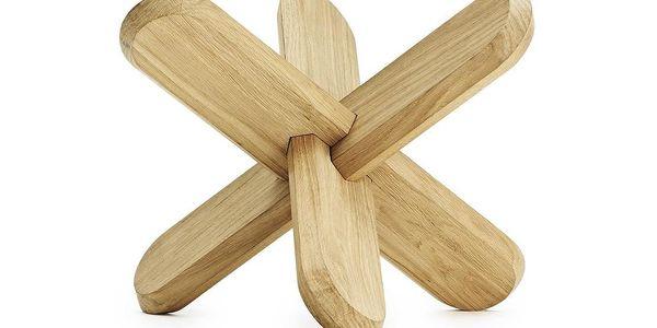 Normann Copenhagen Stůl Ding 40 cm, dřevěný2