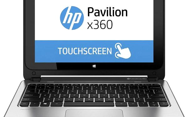 Notebook HP Pavilion x360 11-n110nc L3S01EA + 200 Kč za registraci