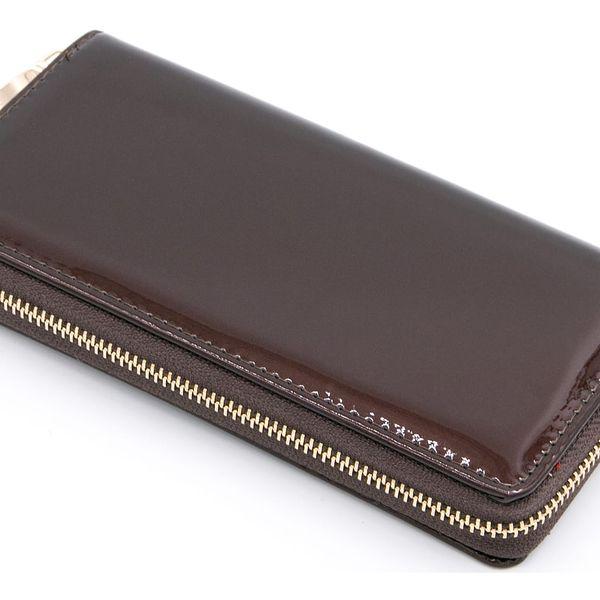 Dámská peněženka Exclusive Shine lesklá lakovaná