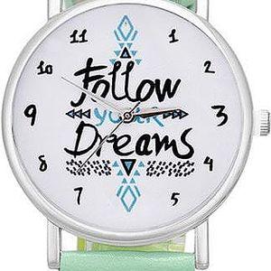 Unisex hodinky Follow Your Dreams - poštovné zdarma