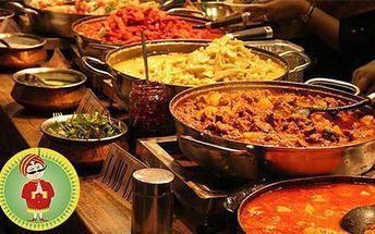 Sleva 50% na veškerá jídla v indické restauraci Indian Happy Tandoor