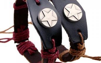 Unisex náramek s hvězdou