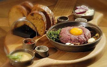 Hovězí tatarák: vyberte si svoji porci!