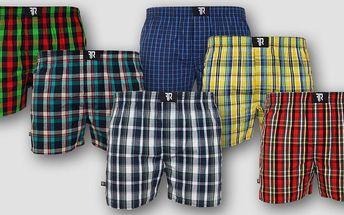 Bavlněné pánské boxerky FREE RIDE