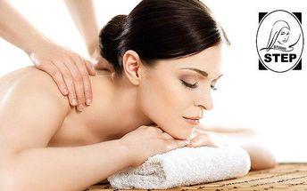 50minutová masáž dle výběru ve studiu Step v Mladé Boleslavi
