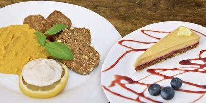 RAW veganská restaurace Hakuna