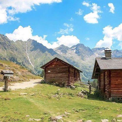 Podzim v rakouských Alpách s rodinou či partou