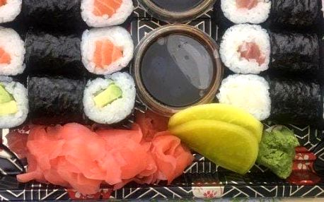 Maki sushi set z Klimentské s sebou 24 ks