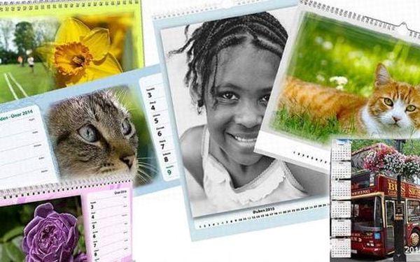Mějte své blízké a nezapomenutelné zážitky na očích každý den. Na výběr 4 druhů kalendářů! Stolní, nástěnný? Čtrnáctidenní nebo roční? Vše je na vás. Udělejte svým blízkým radost.