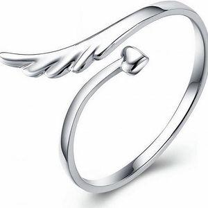 Prsten pro ženy - srdce a křídla - skladovka - poštovné zdarma