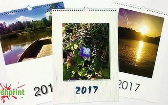Fotokalendář pro rok 2017 - 2 formáty