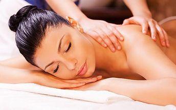 64% sleva na relaxační masáž celého těla, 60 min. v Bonsoir Wellness