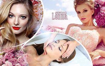Den pro princeznu v Brně: Kadeřnický balíček + kosmetické ošetření a líčení = 215 minut